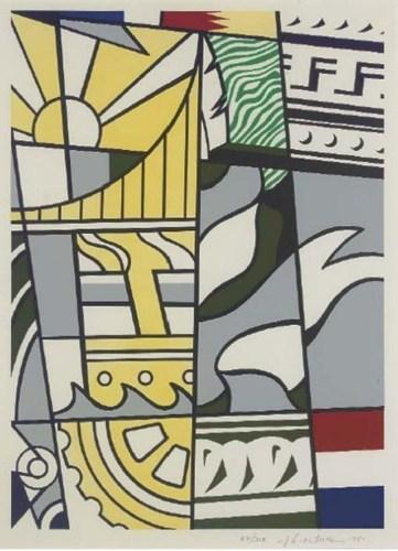Roy Lichtenstein-Bicentennial Print-1975