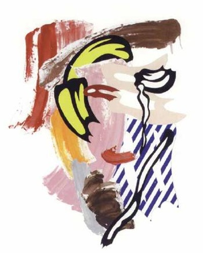 Roy Lichtenstein-Head-1986