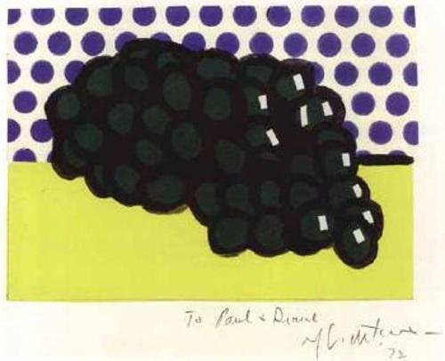 Roy Lichtenstein-Grapes-1972