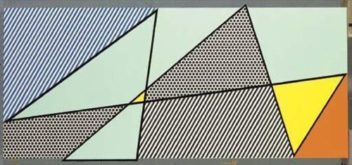 Roy Lichtenstein-Imperfect Painting-1986