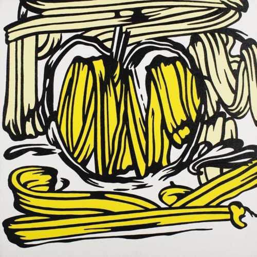 Roy Lichtenstein-Yellow Apple-1981