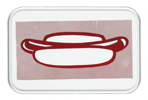 Roy Lichtenstein-Hot Dog-1964