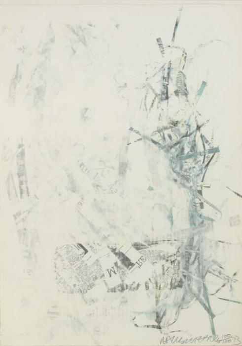 Robert Rauschenberg-Robert Rauschenberg - Noname (Elephant) (From For Meyer Shapiro)-