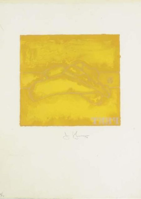 Jasper Johns-Feet, from Casts from Untitled (F. 185; G. 504; ULAE 140)-1974