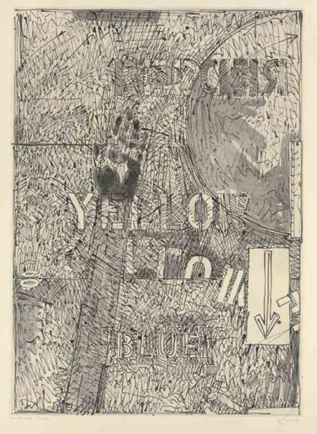 Jasper Johns-Land's End II (ULAE 205)-1979
