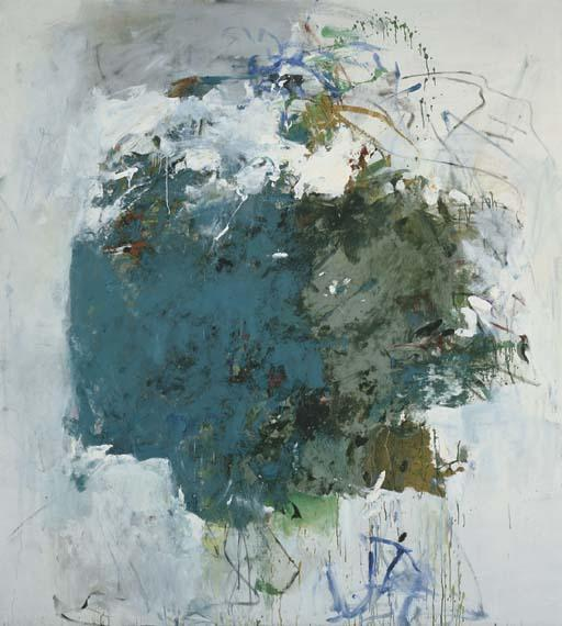 Joan Mitchell-Cerulean blue Tree-1964