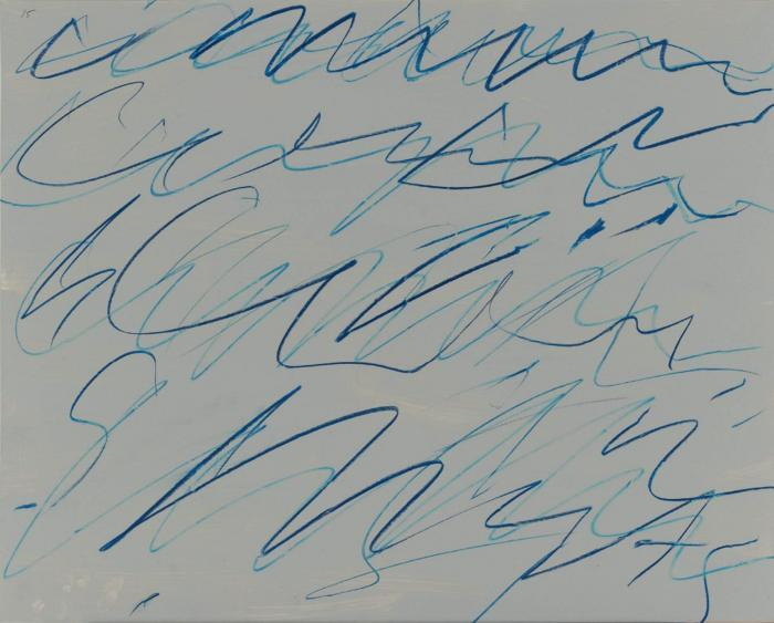 Cy Twombly-Untitled (Roman Note 15)-1970