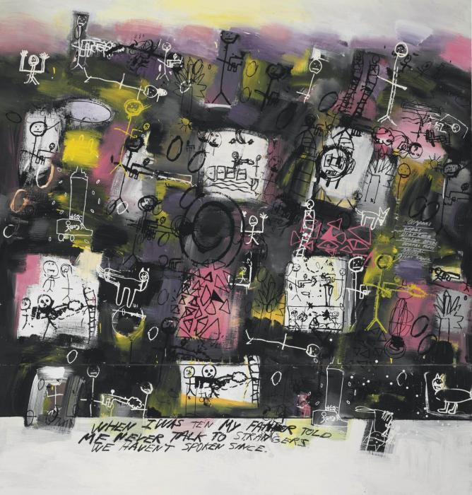 Richard Prince-When I Was Ten-1998
