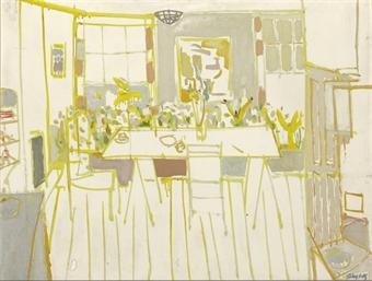 Alex Katz-Untitled-1950