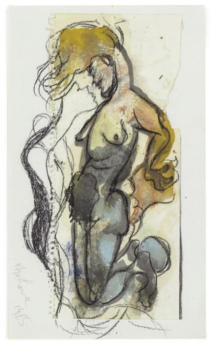 Marlene Dumas-Dream woman-1985
