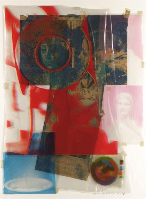 Robert Rauschenberg-Robert Rauschenberg - Untitled-1968