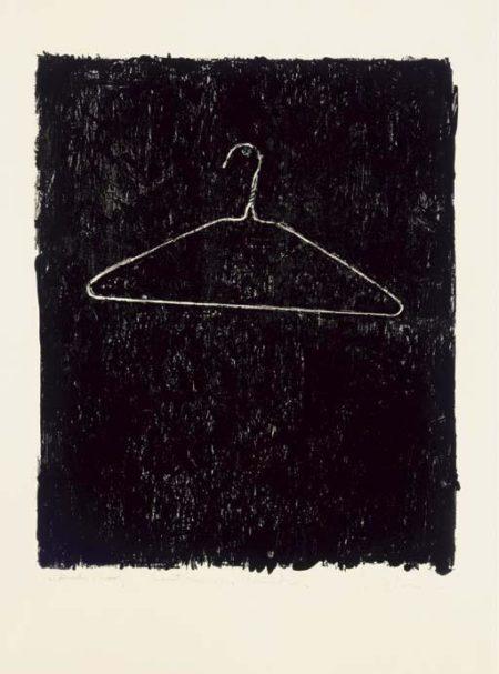 Jasper Johns-Coat Hanger II-1960