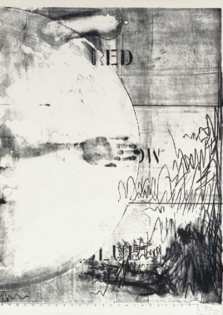 Jasper Johns-Hatteras (ULAE 15)-1963