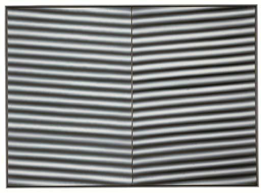 Gerhard Richter-Wellblech (Corrugated Iron)-1968