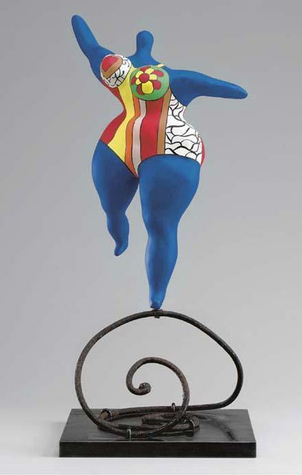 Niki de Saint Phalle-Nana dansante-1982
