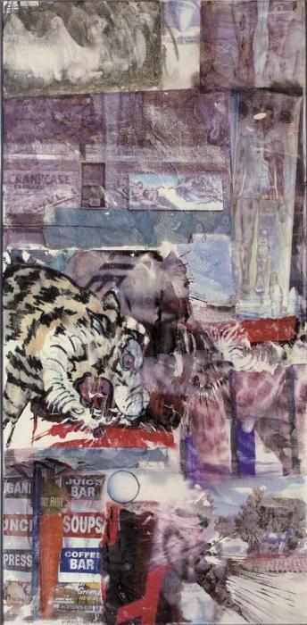 Robert Rauschenberg-Robert Rauschenberg - Premonition-1997