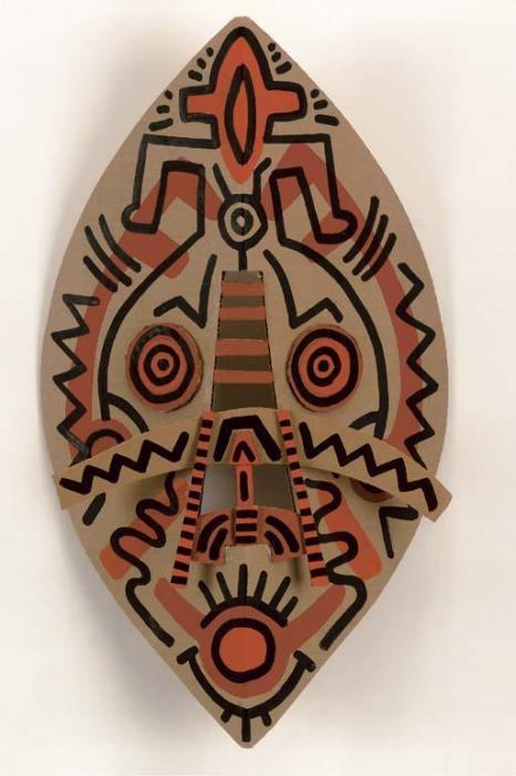 Keith Haring-Keith Haring - Mask-1988