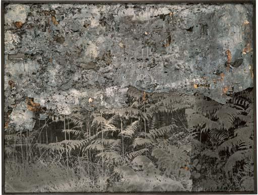 Anselm Kiefer-Farnwald (Fern-Forest)-1992
