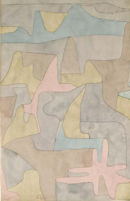 Paul Klee-Landschaft Bei Pemb (Pemb Landscape)-1934