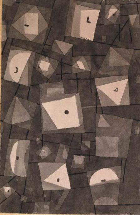 Paul Klee-Magazinierte Symbole-1938