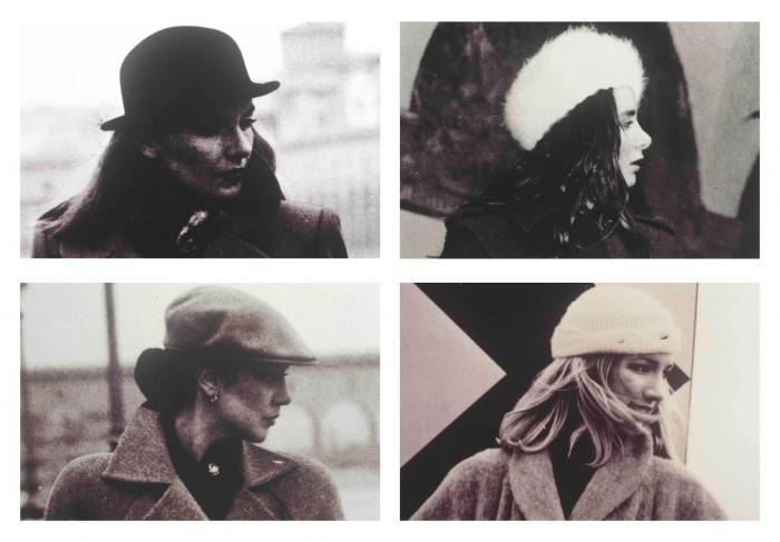 Richard Prince-Four Women With Hats-1980