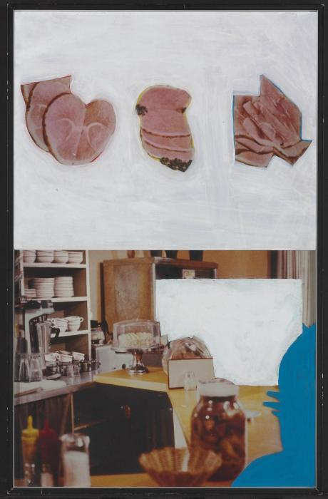 John Baldessari-Diner (with Slices)-1986