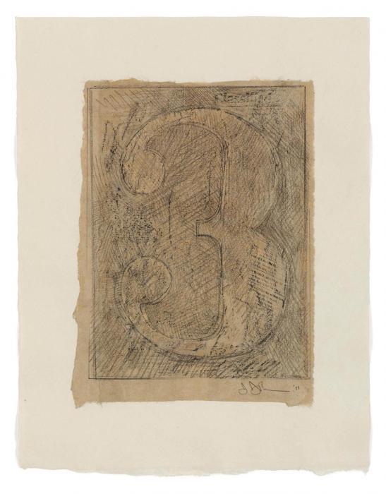 Jasper Johns-Figure 3-2011