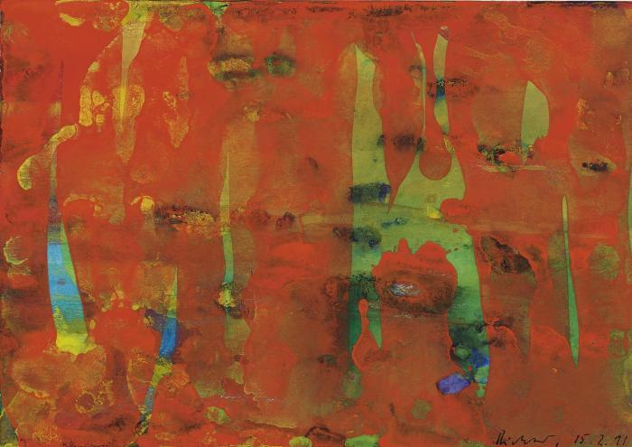 Gerhard Richter-Ohne Titel (15.2.91) / Untitled (15.2.91)-1991