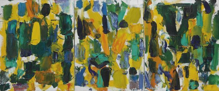 Joan Mitchell-Last October-1977