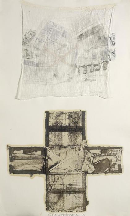 Robert Rauschenberg-Robert Rauschenberg - Untitled (From Tampa 12, 1972)-1974