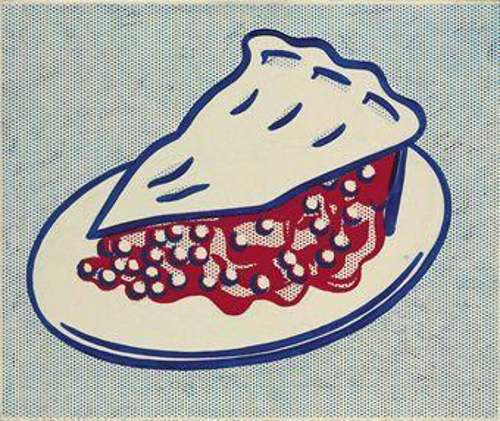 Roy Lichtenstein-Cherry Pie-1962