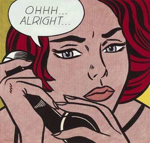 Roy Lichtenstein-Ohhh...Alright...-1964