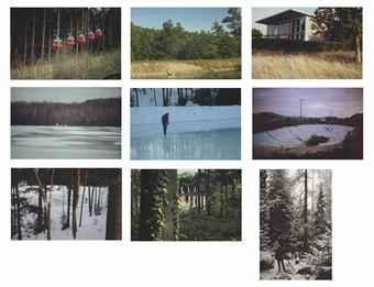 Peter Doig-Untitled (Photos 1-9)-2000
