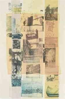 Robert Rauschenberg-Robert Rauschenberg - A-Dictum (Slide)-1979