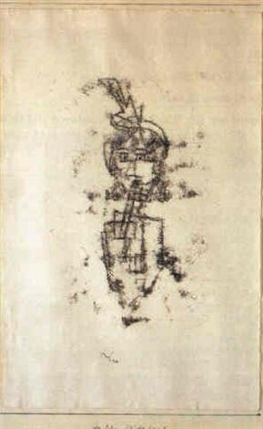 Paul Klee-Altliches Kind II-1930