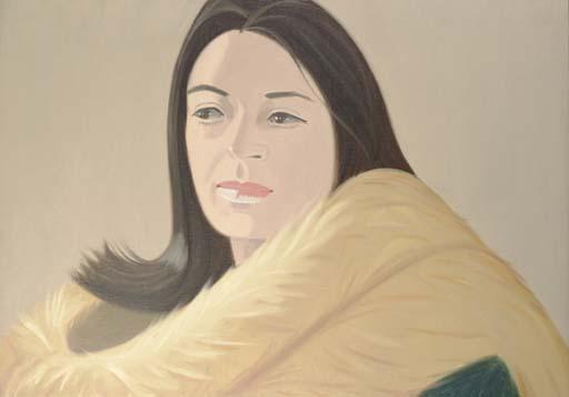 Alex Katz-Fox II-1973