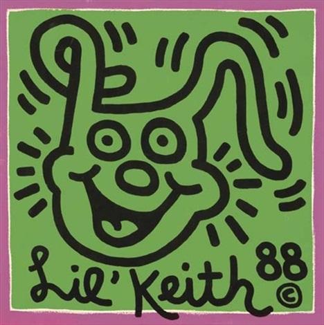 Keith Haring-Keith Haring - Lil'Keith-1988