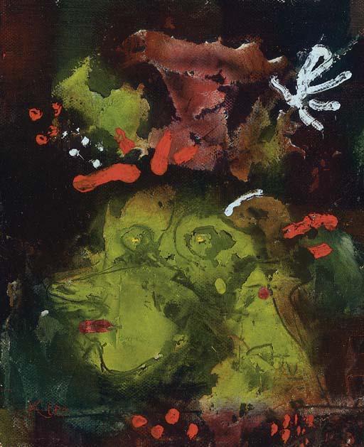 Paul Klee-Frau im Sontagsstat-1928