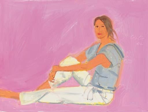 Alex Katz-Christy-2005