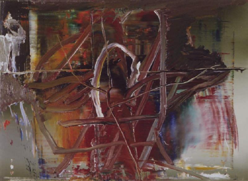 Gerhard Richter-Abstraktes Bild 627-2 (Abstract Painting 627-2)-1987