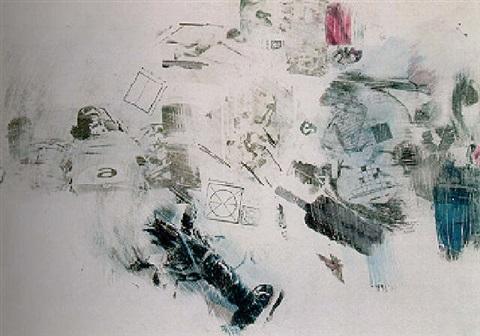 Robert Rauschenberg-Robert Rauschenberg - Fast Slip-1964