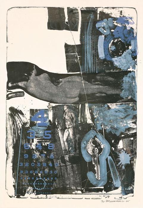 Robert Rauschenberg-Robert Rauschenberg - Breakthrough II-1965
