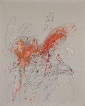 Cy Twombly-Leda and the Swan-1963