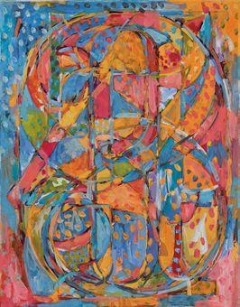 Jasper Johns-0 Through 9-1961