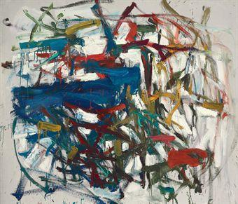 Joan Mitchell-Untitled-1958
