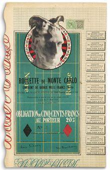 Marcel Duchamp-Monte Carlo Bond (No. 1)-1924
