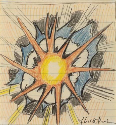 Roy Lichtenstein-Explosion-1966