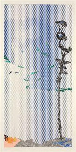 Roy Lichtenstein-Collage for landscape with tall tree-1995