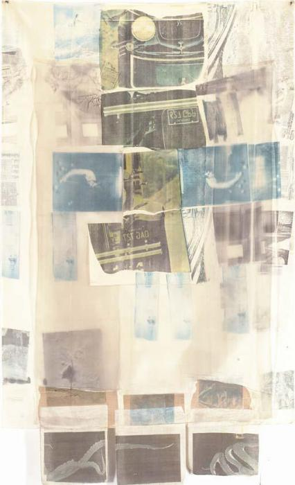 Robert Rauschenberg-Robert Rauschenberg - Hoarfrost (Untitled)-1974