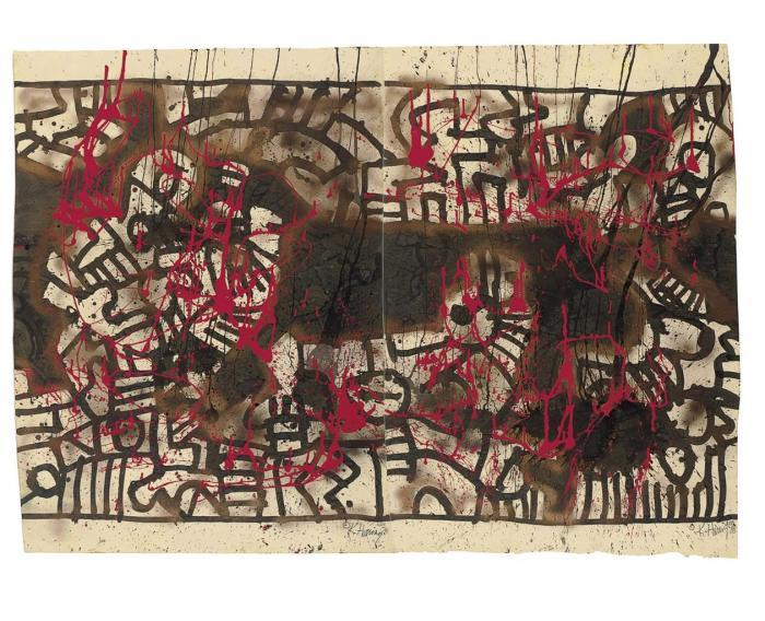 Keith Haring-Keith Haring - Untitled-1978